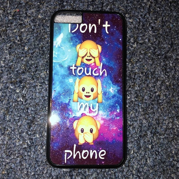 """""""Don't touch my phone """" iPHONE 6S CASE"""
